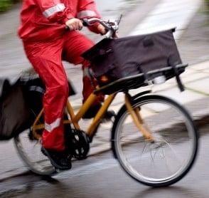 Post Danmark forsendelser bliver langsommere