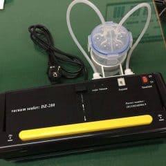 Vacuumpakker med væskeopsamler