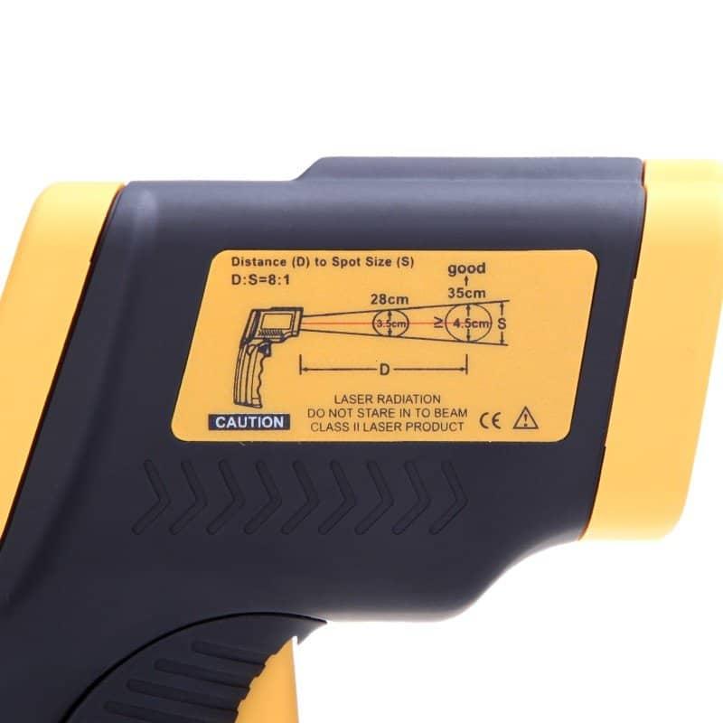 Infrarød termometer (-50C til 380C)
